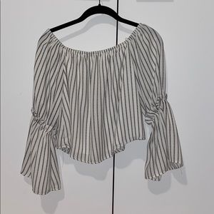 Off the shoulder top from Altar'd State